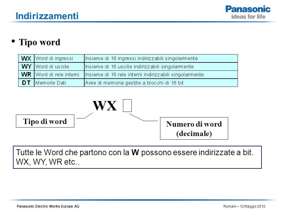 Numero di word (decimale)