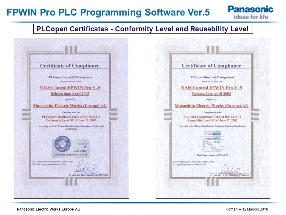 FPWIN Pro PLC Programming Software Ver.5