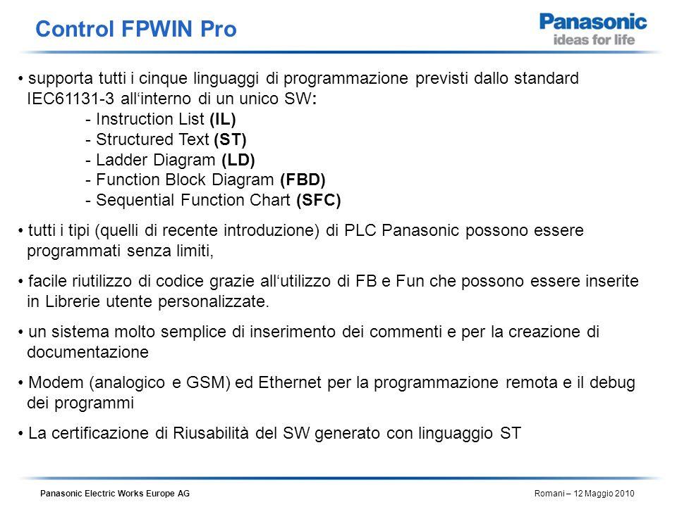 Control FPWIN Pro