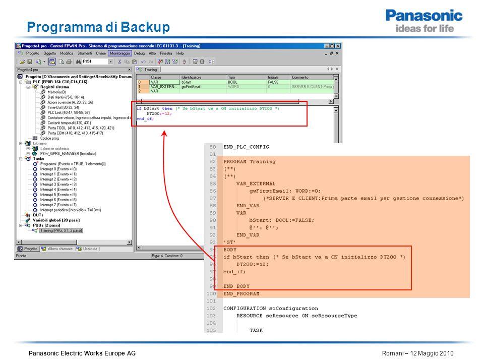 Programma di Backup