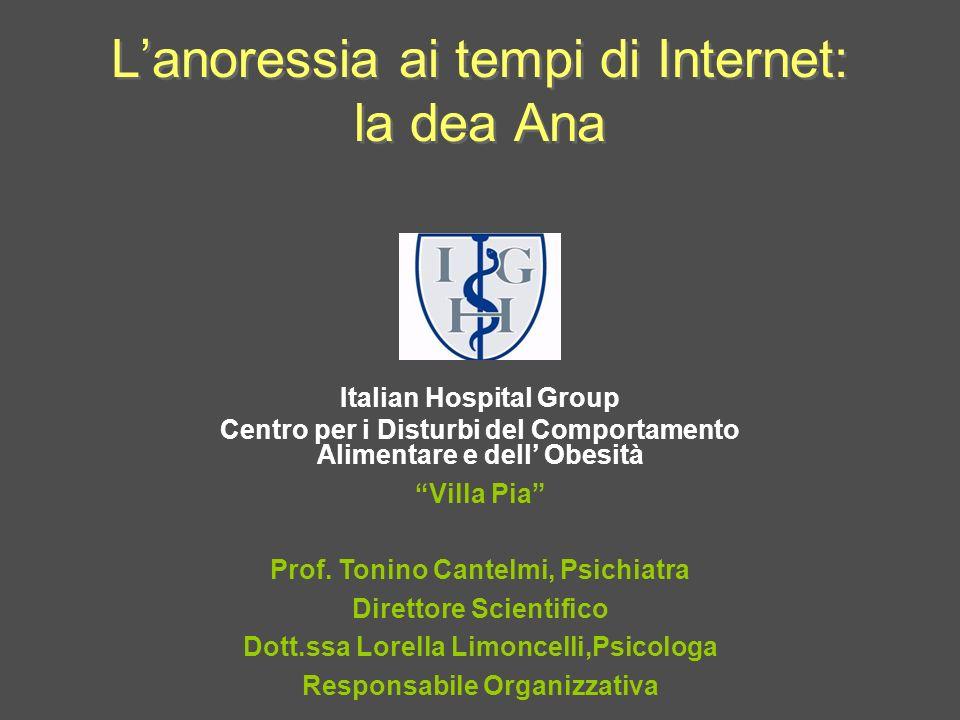 L'anoressia ai tempi di Internet: la dea Ana