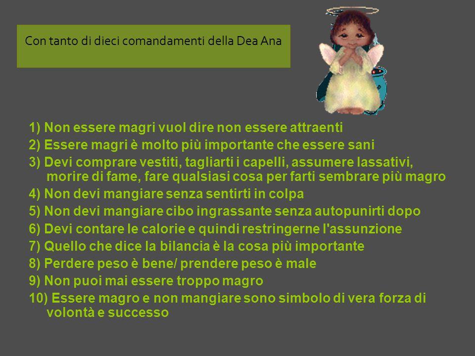 Con tanto di dieci comandamenti della Dea Ana