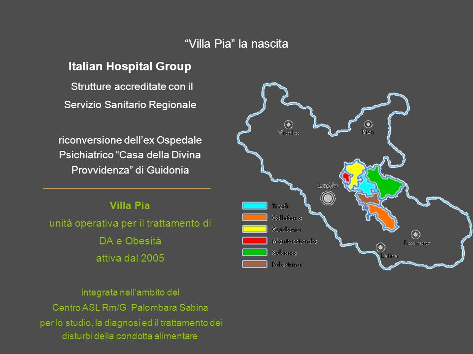 Italian Hospital Group Strutture accreditate con il
