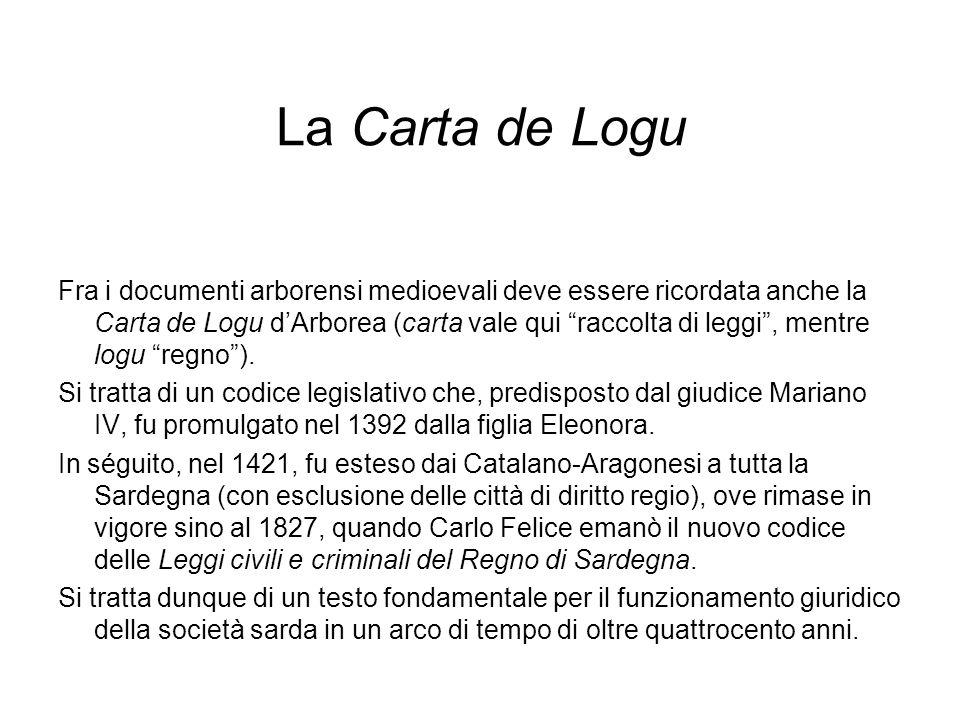 La Carta de Logu