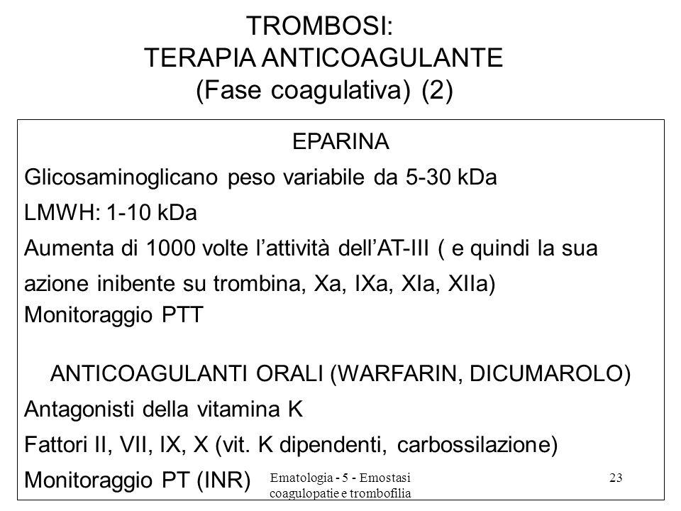 TERAPIA ANTICOAGULANTE (Fase coagulativa) (2)