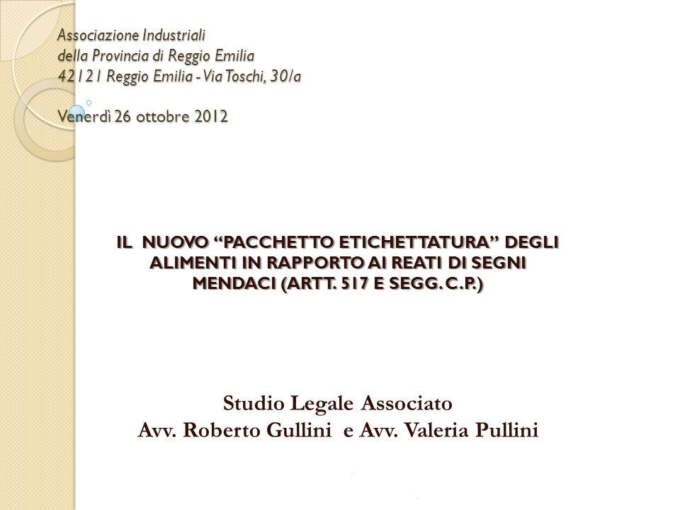 Studio Legale Associato Avv. Roberto Gullini e Avv. Valeria Pullini