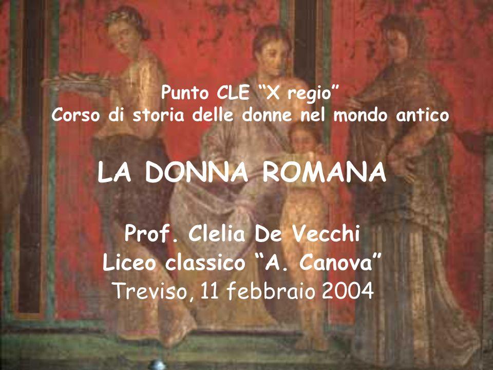 Punto CLE X regio Corso di storia delle donne nel mondo antico