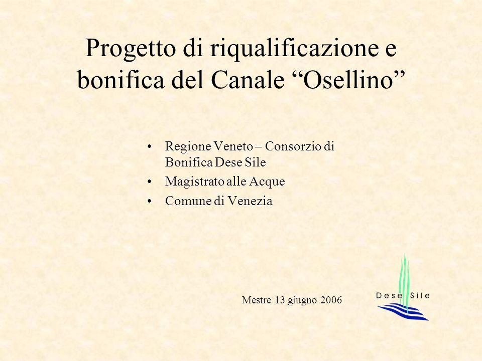 Progetto di riqualificazione e bonifica del Canale Osellino