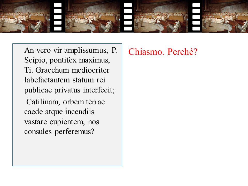 An vero vir amplissumus, P. Scipio, pontifex maximus, Ti