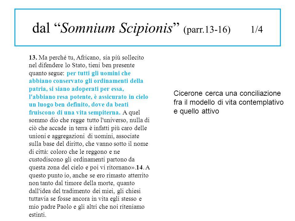dal Somnium Scipionis (parr.13-16) 1/4