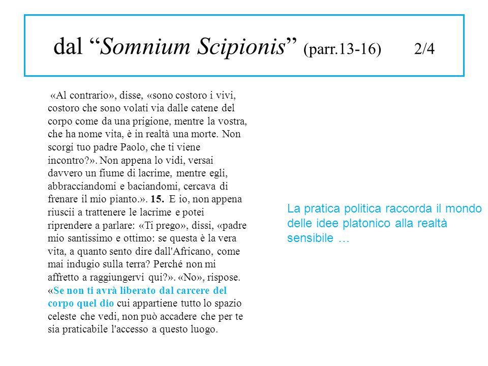 dal Somnium Scipionis (parr.13-16) 2/4