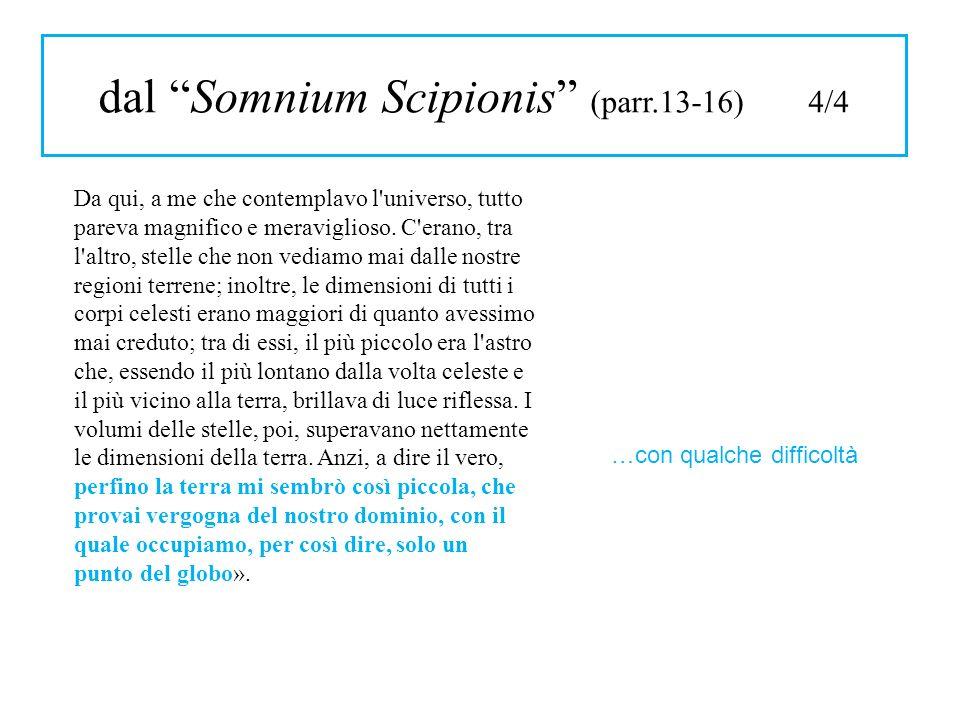 dal Somnium Scipionis (parr.13-16) 4/4