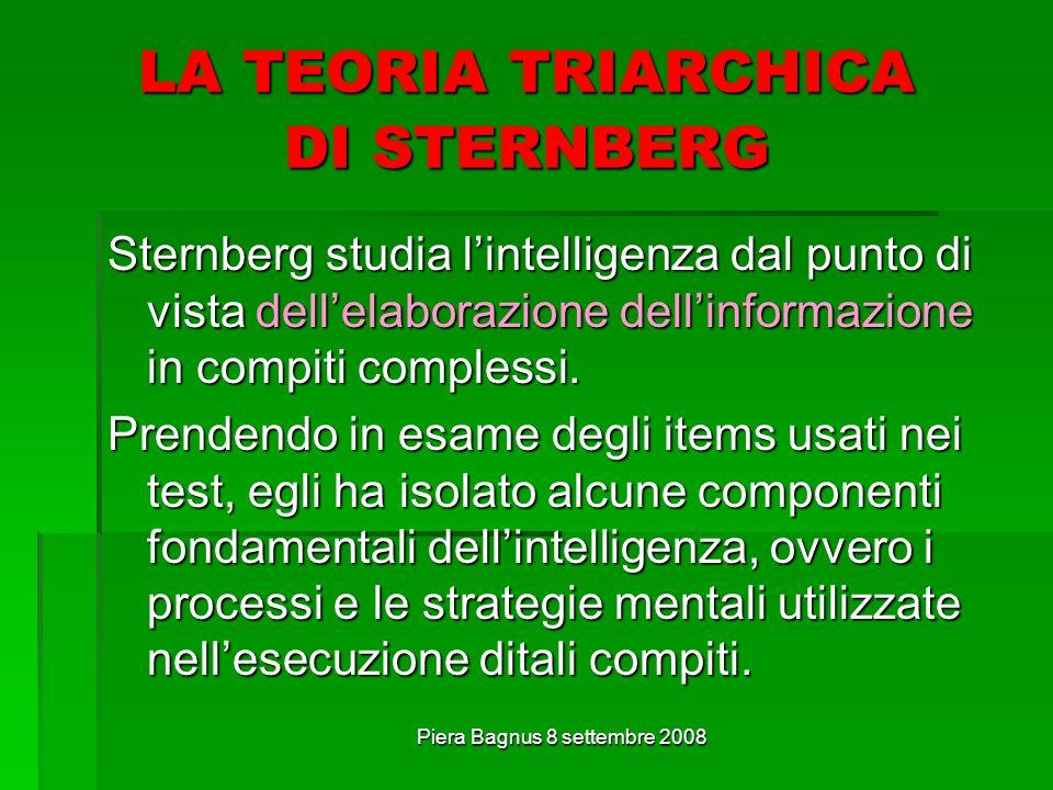 LA TEORIA TRIARCHICA DI STERNBERG