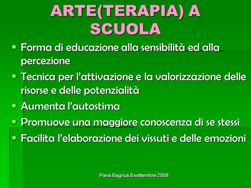 ARTE(TERAPIA) A SCUOLA