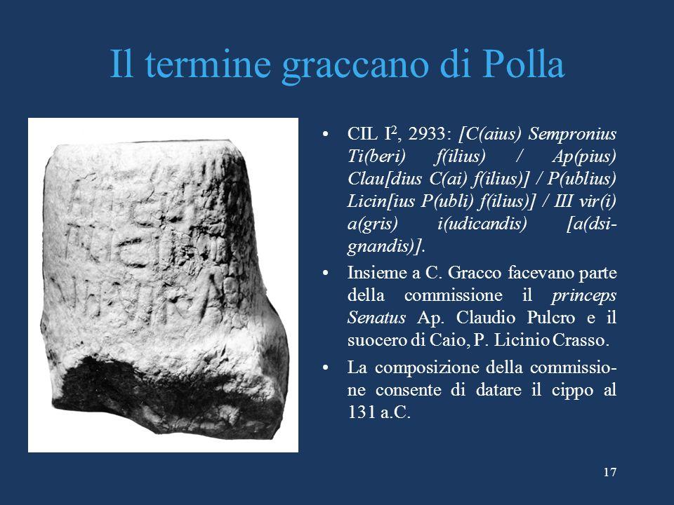 Il termine graccano di Polla