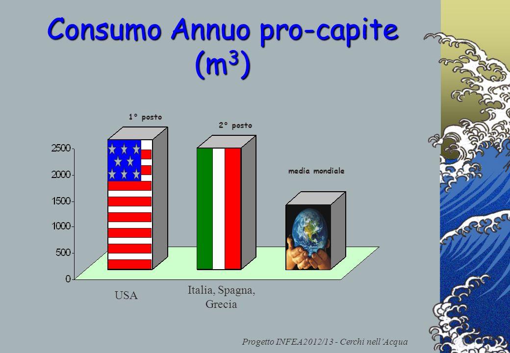 Consumo Annuo pro-capite (m3)