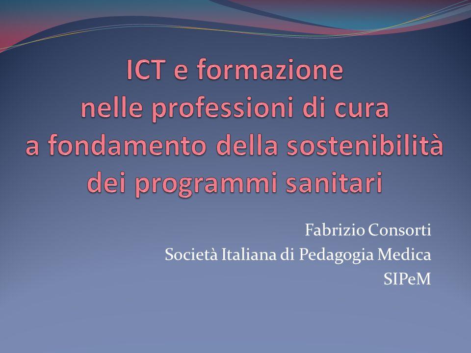 Fabrizio Consorti Società Italiana di Pedagogia Medica SIPeM