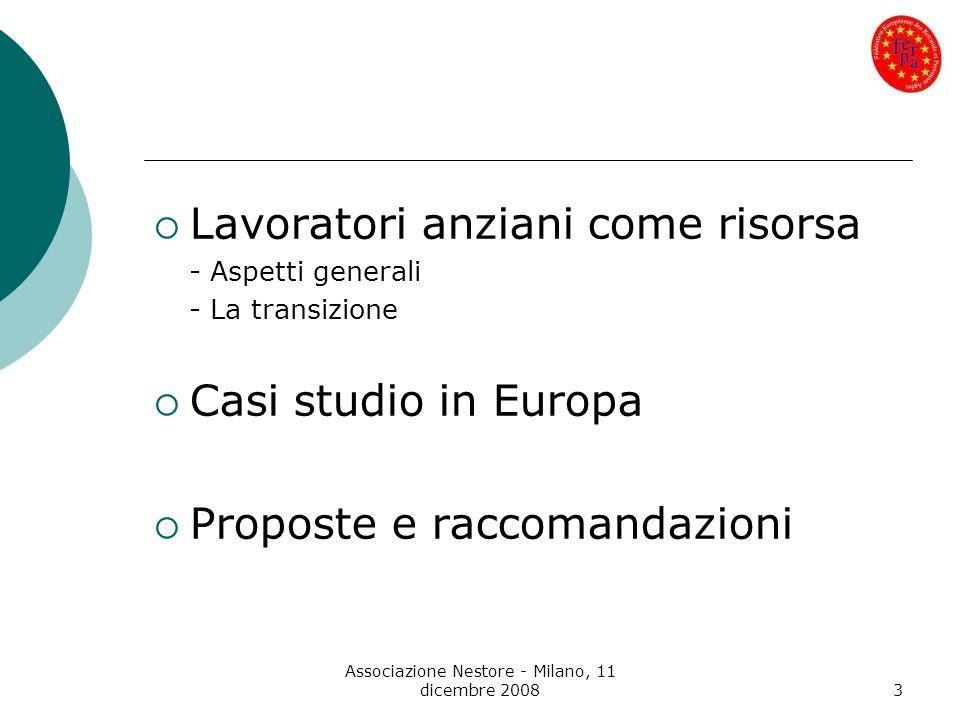 Associazione Nestore - Milano, 11 dicembre 2008