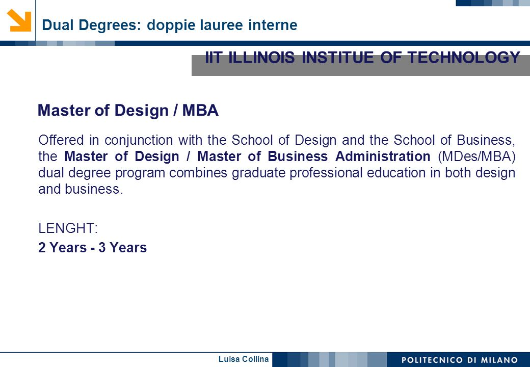 IIT ILLINOIS INSTITUE OF TECHNOLOGY