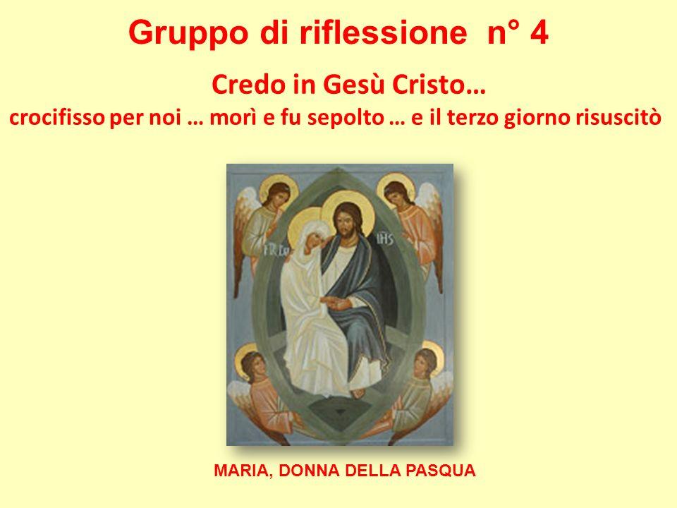 Gruppo di riflessione n° 4