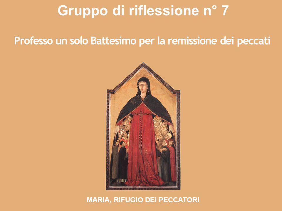 Gruppo di riflessione n° 7