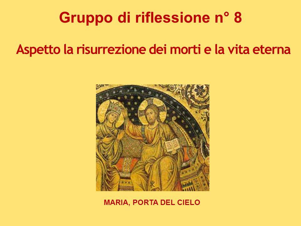 Gruppo di riflessione n° 8