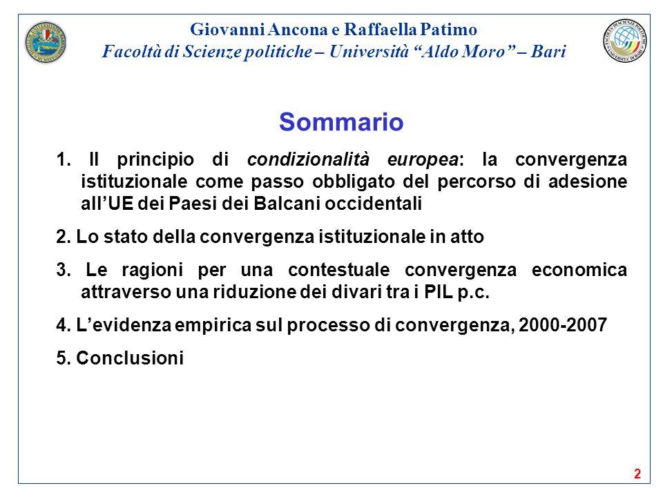 Sommario Giovanni Ancona e Raffaella Patimo