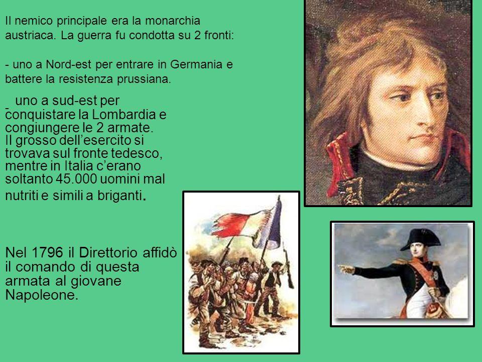 Il nemico principale era la monarchia austriaca