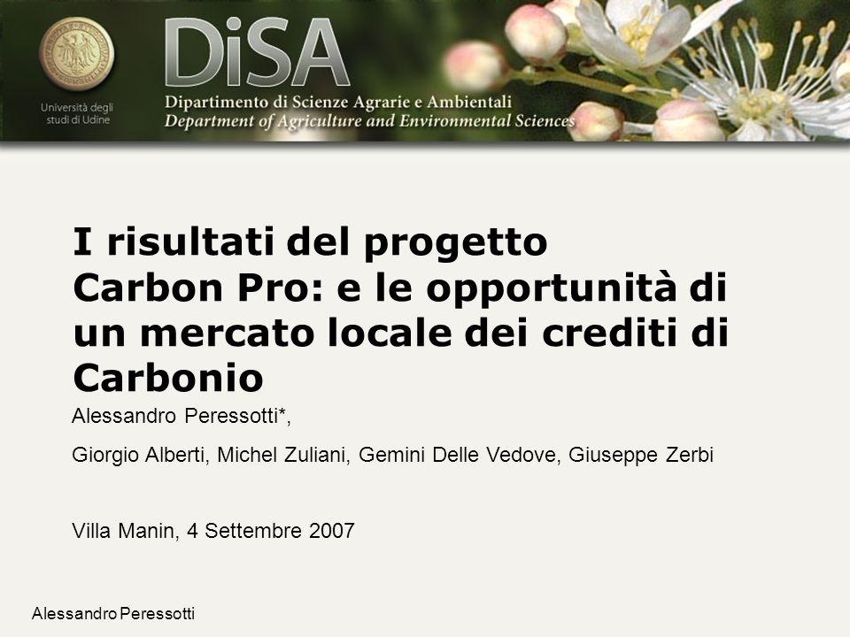 I risultati del progetto Carbon Pro: e le opportunità di un mercato locale dei crediti di Carbonio