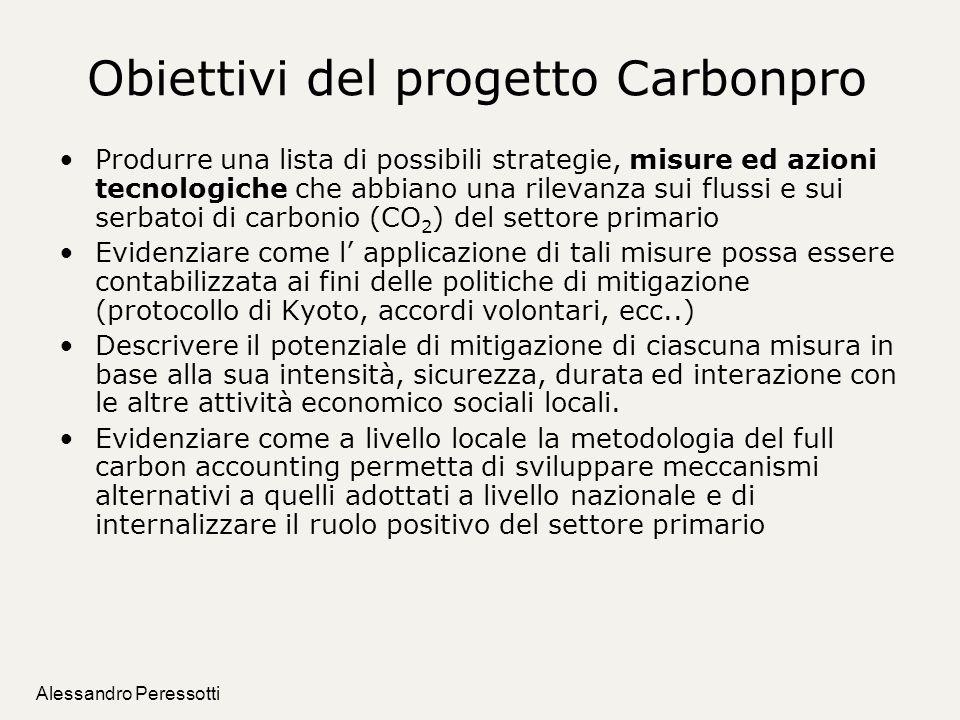 Obiettivi del progetto Carbonpro