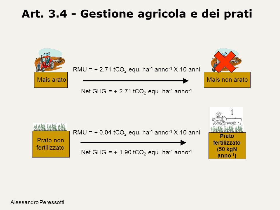 Art. 3.4 - Gestione agricola e dei prati