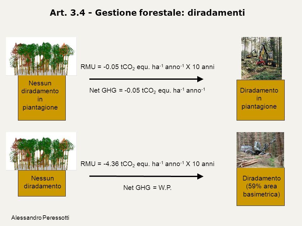 Art. 3.4 - Gestione forestale: diradamenti