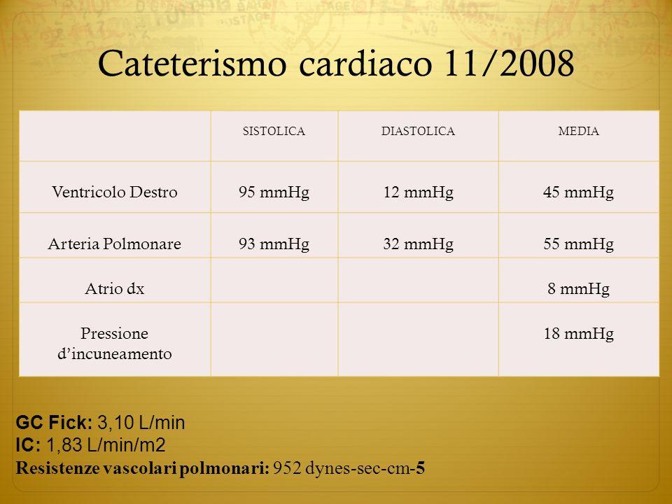 Cateterismo cardiaco 11/2008