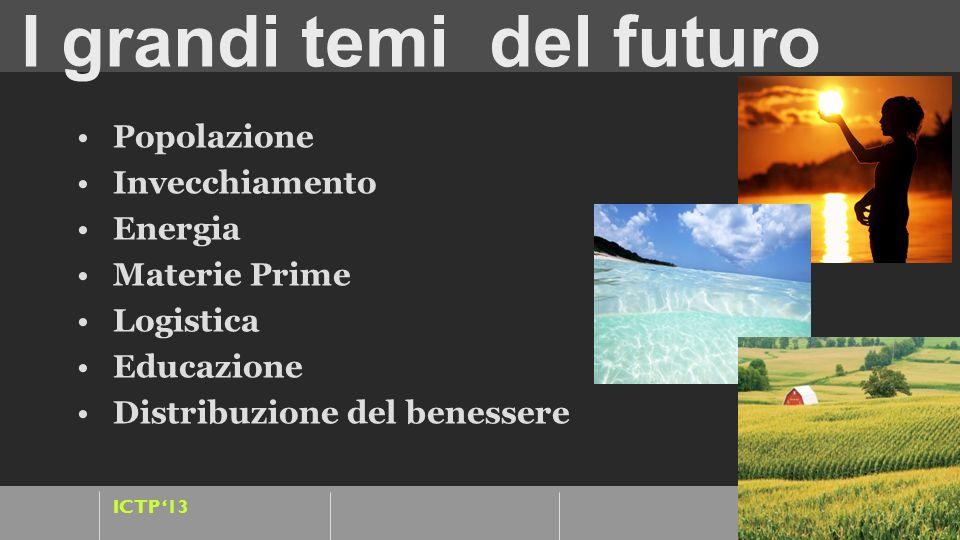 I grandi temi del futuro