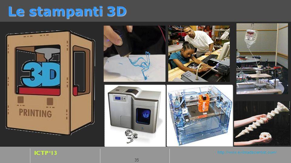 Le stampanti 3D http://fab.cba.mit.edu/about