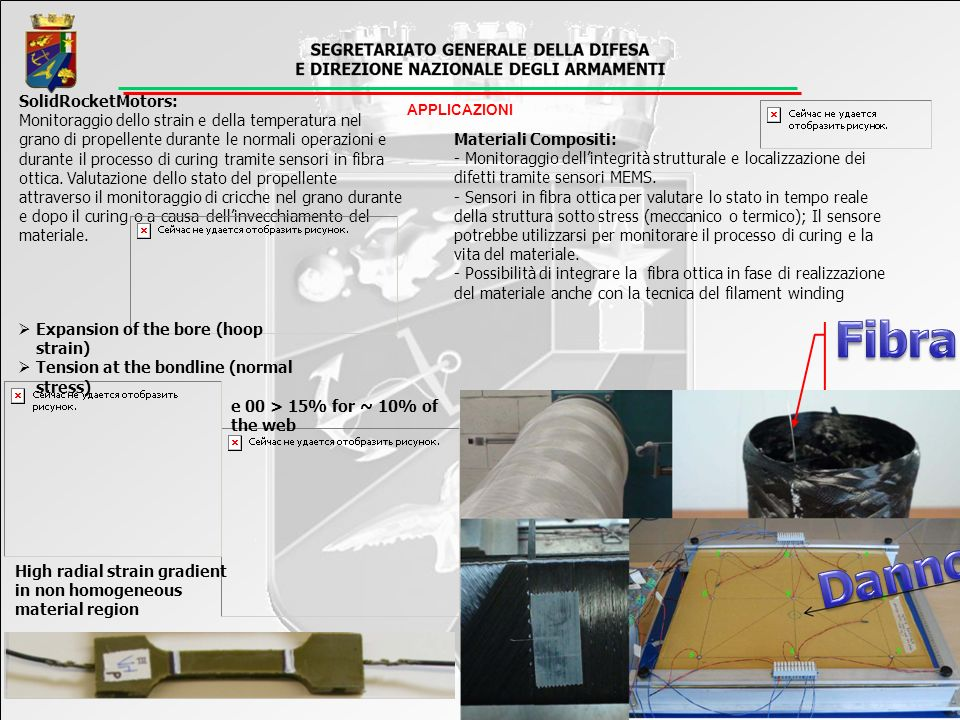 Fibra Danno SolidRocketMotors: