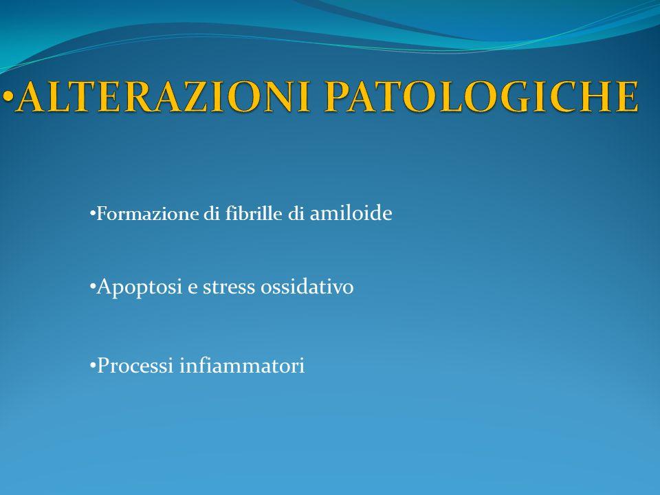 ALTERAZIONI PATOLOGICHE