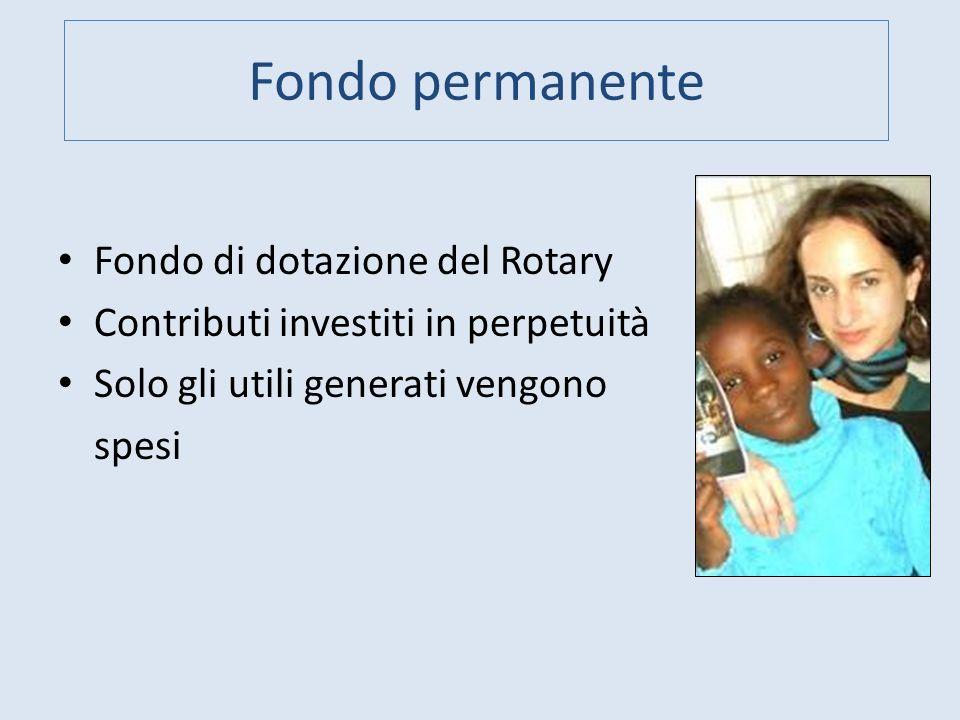 Fondo permanente Fondo di dotazione del Rotary