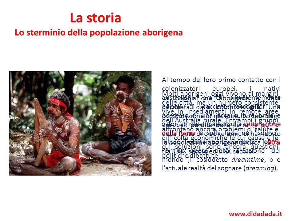 Lo sterminio della popolazione aborigena
