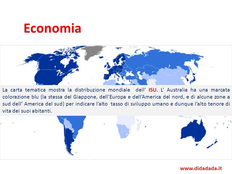 Economia Valuta Dollaro australiano 762 887 milioni di $ (2007)