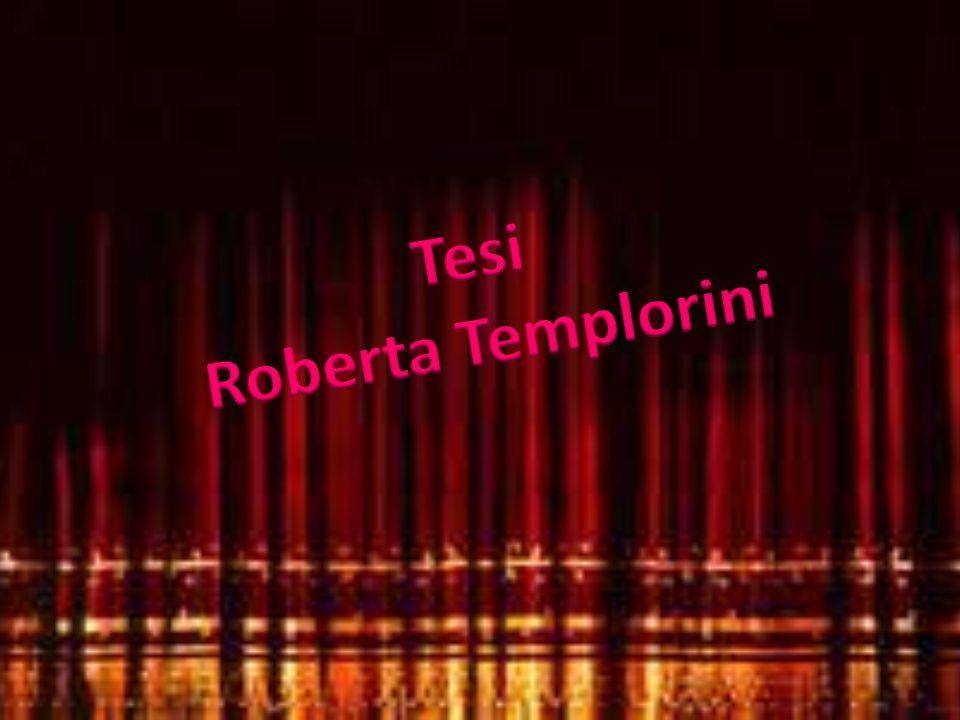 Tesi Roberta Templorini