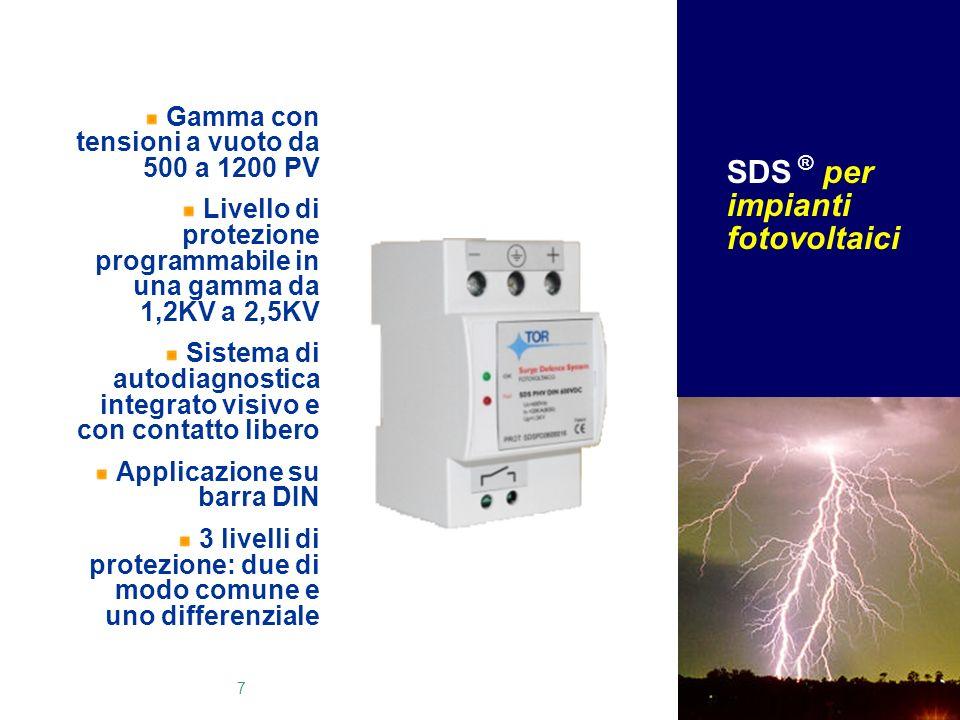 SDS ® per impianti fotovoltaici