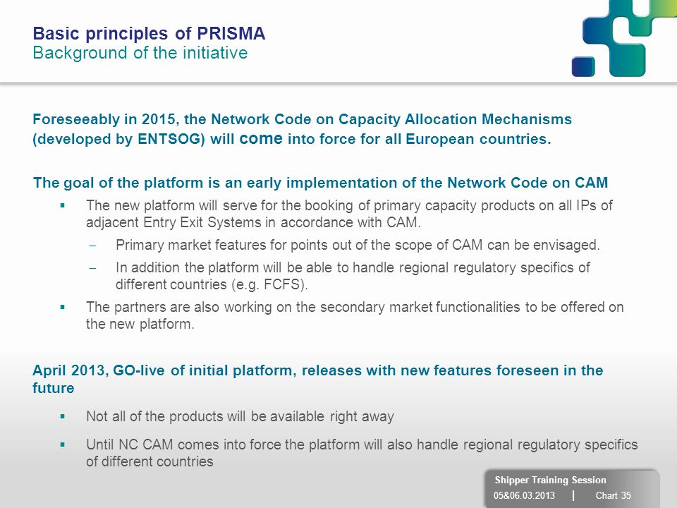 Basic principles of PRISMA Background of the initiative