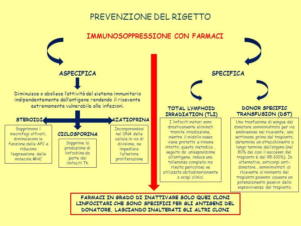 PREVENZIONE DEL RIGETTO