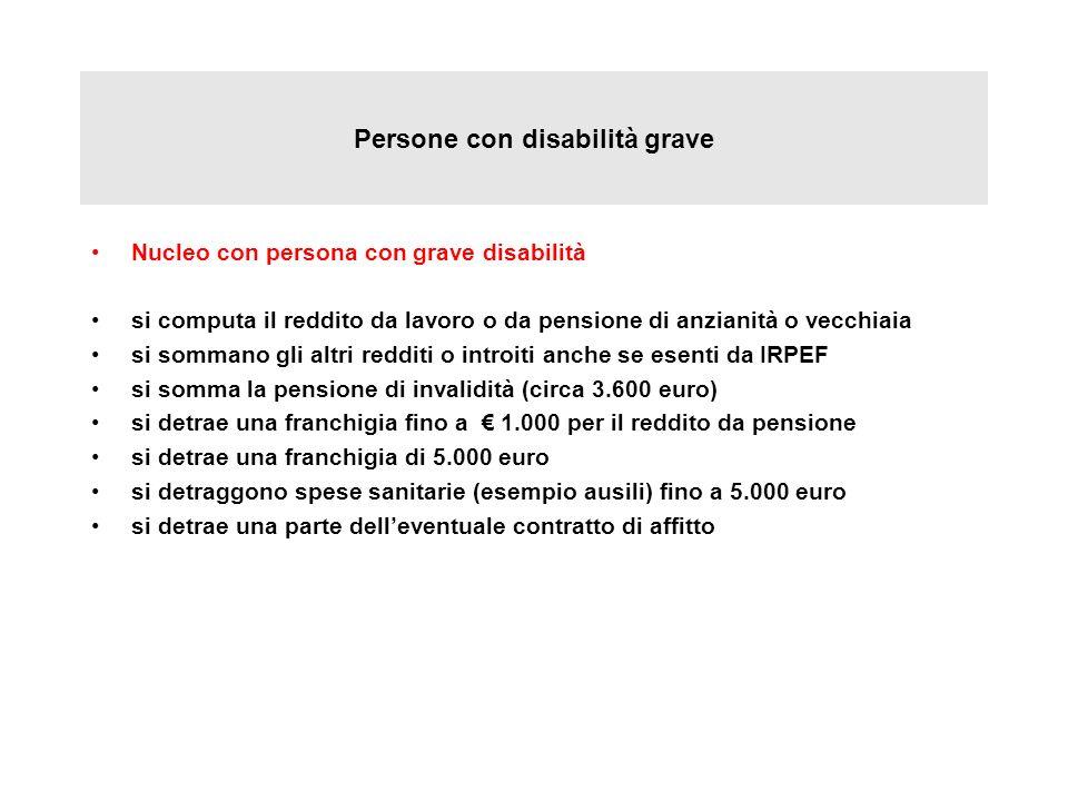 Persone con disabilità grave