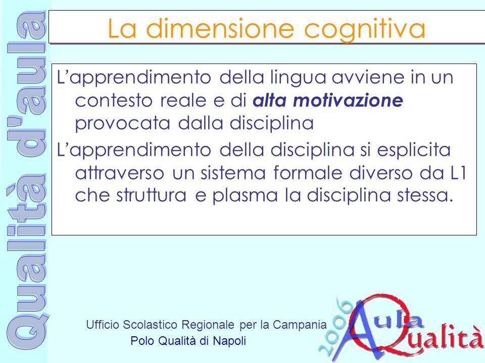 La dimensione cognitiva