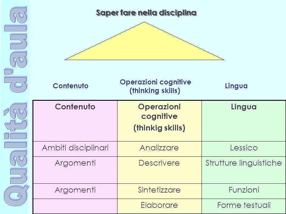 Saper fare nella disciplina