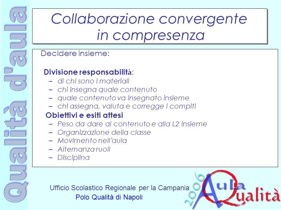 Collaborazione convergente in compresenza