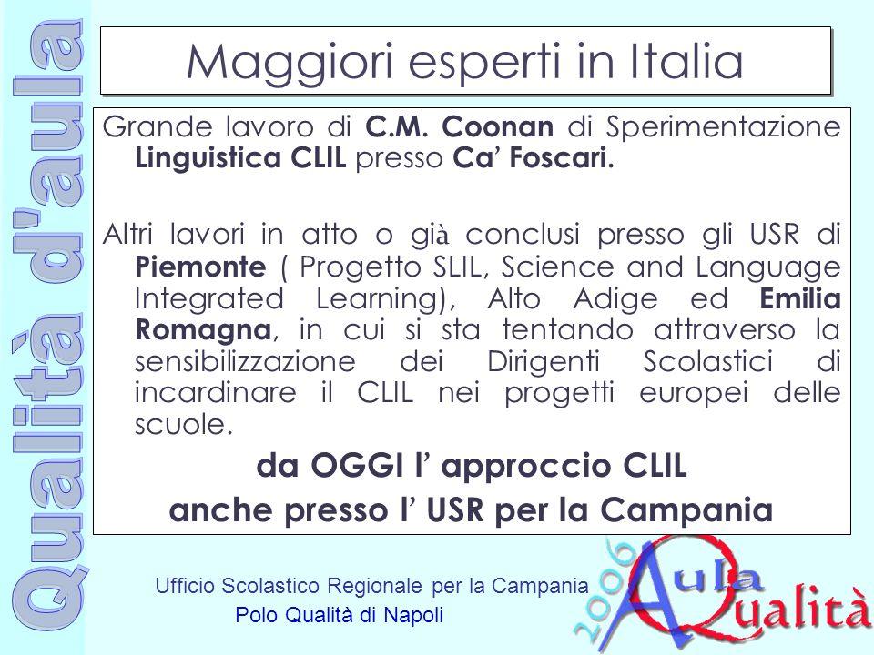 Maggiori esperti in Italia