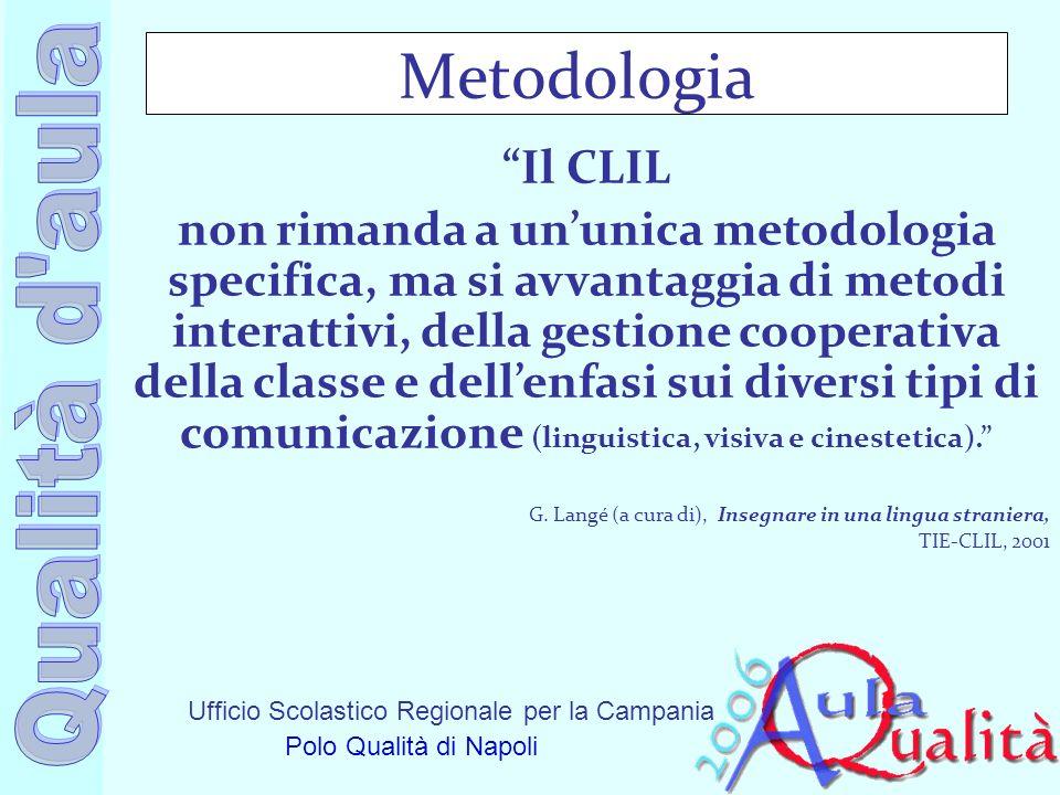 Metodologia Il CLIL.